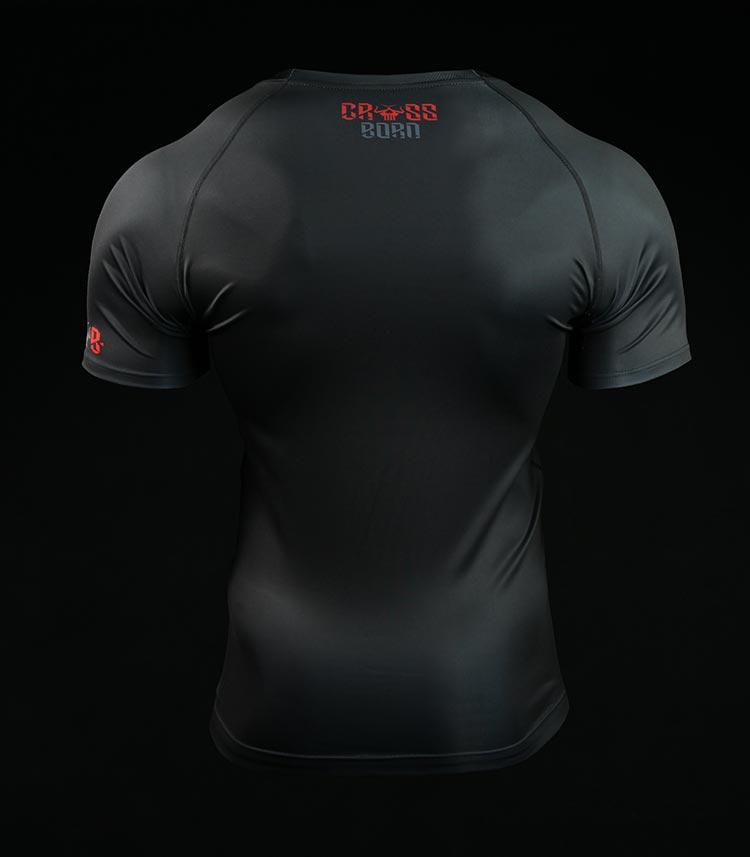 Rashguard Crossborn Minimal Black