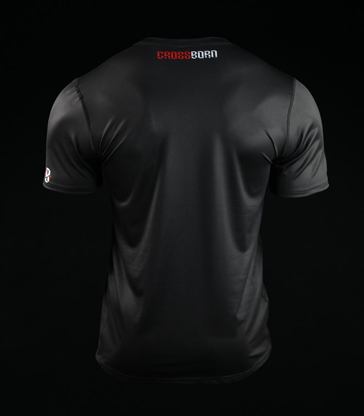 Training t-shirt Crossborn Minimal Black
