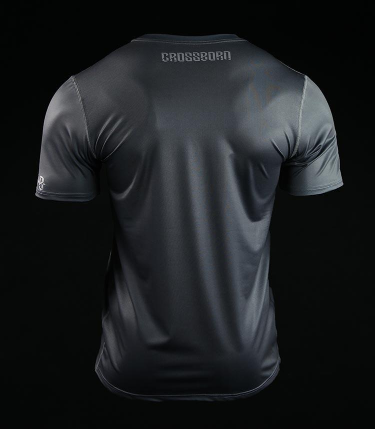 Koszulka treningowa (T-shirt) Minimal Szara